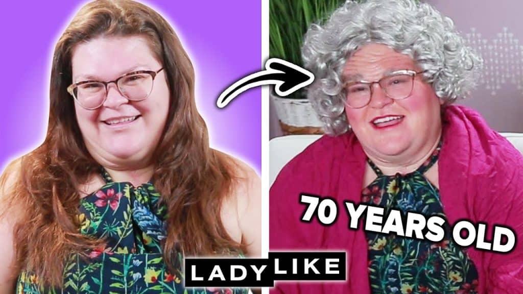 Tentamos envelhecer por 40 anos com maquiagem • Elegante