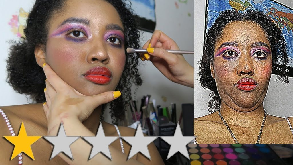 Fui ao pior artista de maquiagem comentado no YELP EM MINHA CIDADE