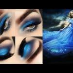 Makeup Cinderella - Maquiagem azul inspirada no vestido da princesa
