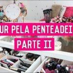 Tour pela Penteadeira ATUALIZADO 2019 | Coleção de Maquiagem!! | #Parte2
