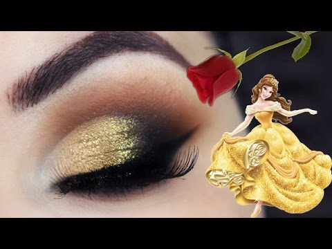 Maquiagem inspirada na Bela - Belle Makeup Tutorial - Bela e a Fera / Beauty and the Beast