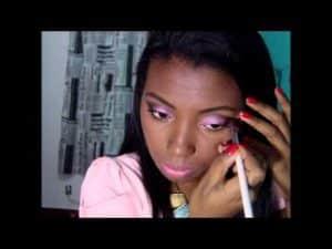 Maquiagem Rosa - Por Camila Nunes