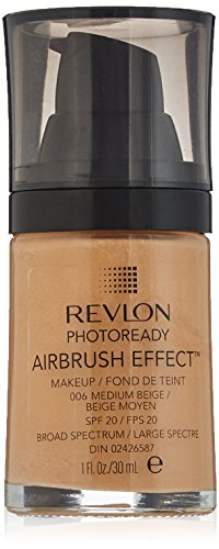 Revlon PhotoReady Airbrush efeito maquiagem, bege médio