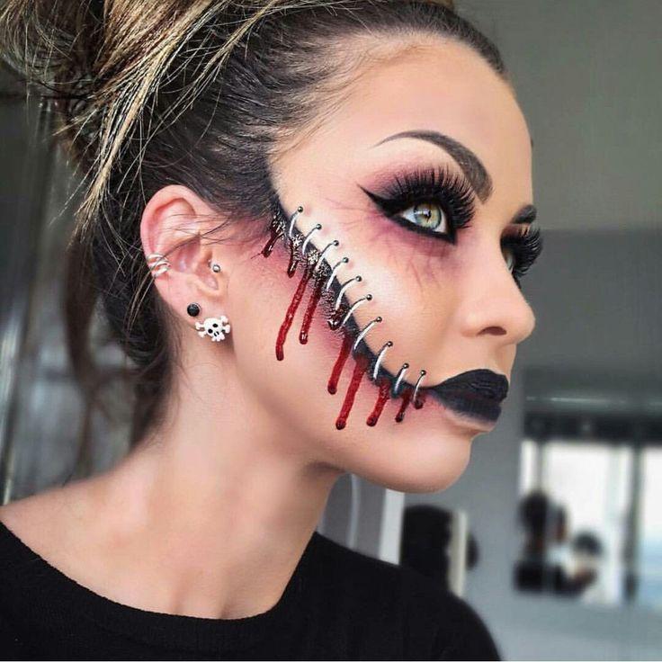Halloween - maquiagem e outra maquiagem # Halloween # maquiagem # maquiagem