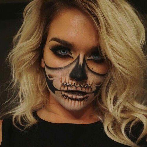 Maquiagem para idéias de Halloween-Halloween para fantasias. Maquiagem inspira