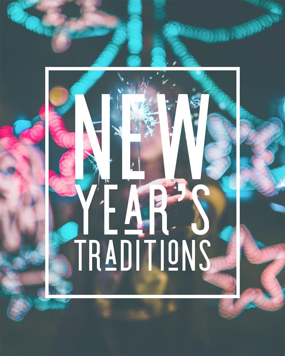 Quais são as suas tradições de véspera de Ano Novo?