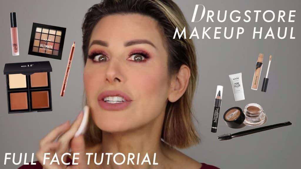 Tutorial de maquiagem de farmácia de rosto completo: gostamos ?! | Dominique Sachse