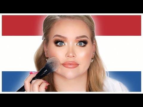 Falando em holandês SOMENTE Tutorial de maquiagem! | NikkieTutoriais