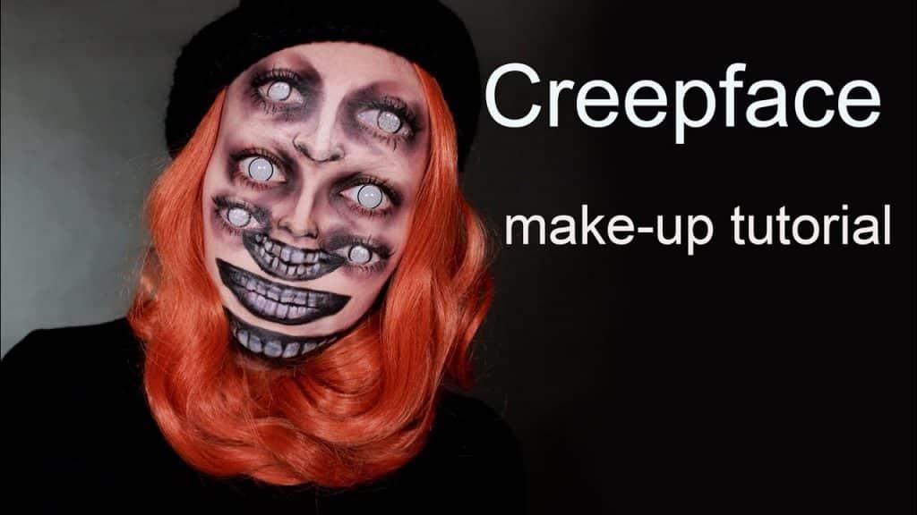 Tutorial de maquiagem de pintura de rosto com aparência de rastejamento, metamorphosia_fx