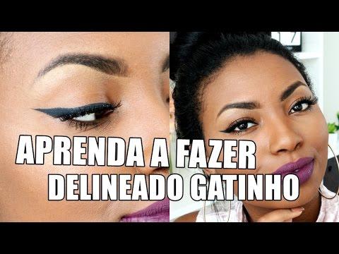 COMO FAZER DELINEADO GATINHO | VEDA #19 Camila Nunes