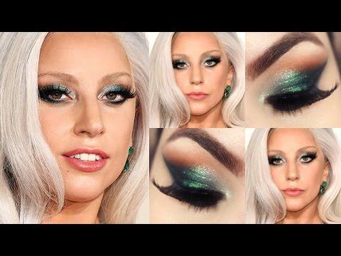 Lady Gaga Makeup Tutorial - Maquiagem Olhar de Vilã Rica