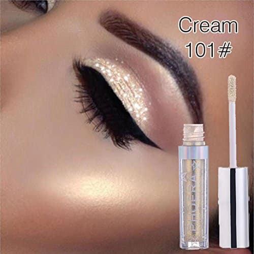 Promoção de afastamento 12 cores PHOERA Magnificent Metals Glitter e brilho líquido Eyeshadow (A)