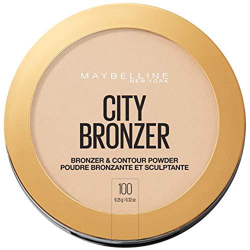 Maybelline New York City Bronzer em pó Maquiagem Bronzer e contorno em pó, 100, 0,32 Onça