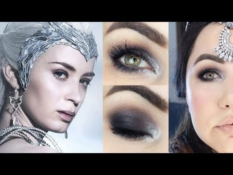 Makeup Tutorial Rainha do Gelo - Smokey Eyes para Iniciantes