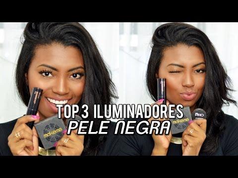 TOP 3 Iluminadores para pele negra - Por Camila Nunes