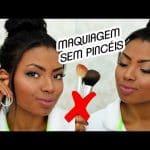 MAQUIAGEM SEM USAR PINCÉIS | DESAFIO por Camila Nunes