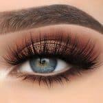 30 idéias de maquiagem de casamento para olhos azuis