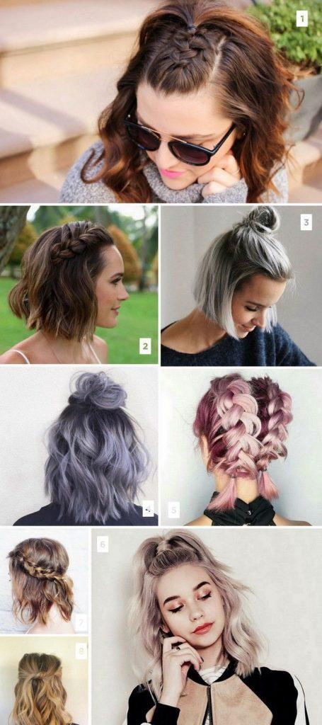 16 penteados curtos Popular no Pinterest
