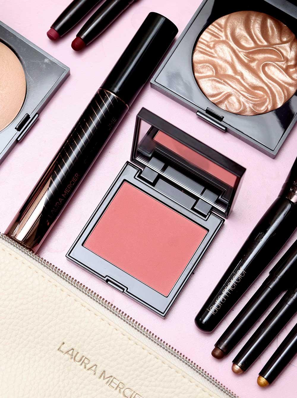 laura mercier rosa amostra de blush