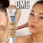 NEW MAYBELLINE DREAM URBAN COVER SPF50 FOUNDATION: FIRST IMPRESSION & REVIEW | Blissfulbrii