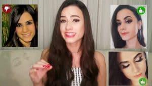 Maquiagem - Maquiagem Simples - Maquiagem para casamento - Maquiagem para formatura.