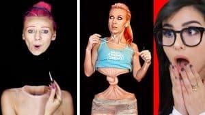 Crazy Makeup e Body Paint ILUSÕES