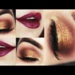 Maquiagem Bronze Fácil e Rápida de Natal - Holiday Makeup Tutorial