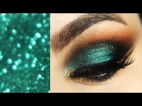 Maquiagem Árabe com glitter da Alice Salazar