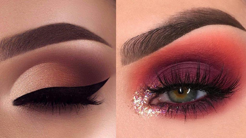 15 idéias de maquiagem glamourosa para os olhos e tutoriais sobre sombras nos olhos | Maquiagem de olhos lindos