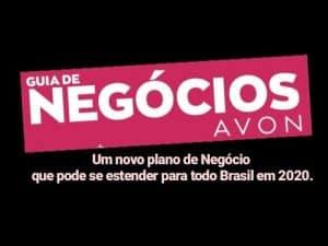 Um Novo Plano de Negócios Avon, que pode se estender para todo Brasil em 2020 - Veja detalhes