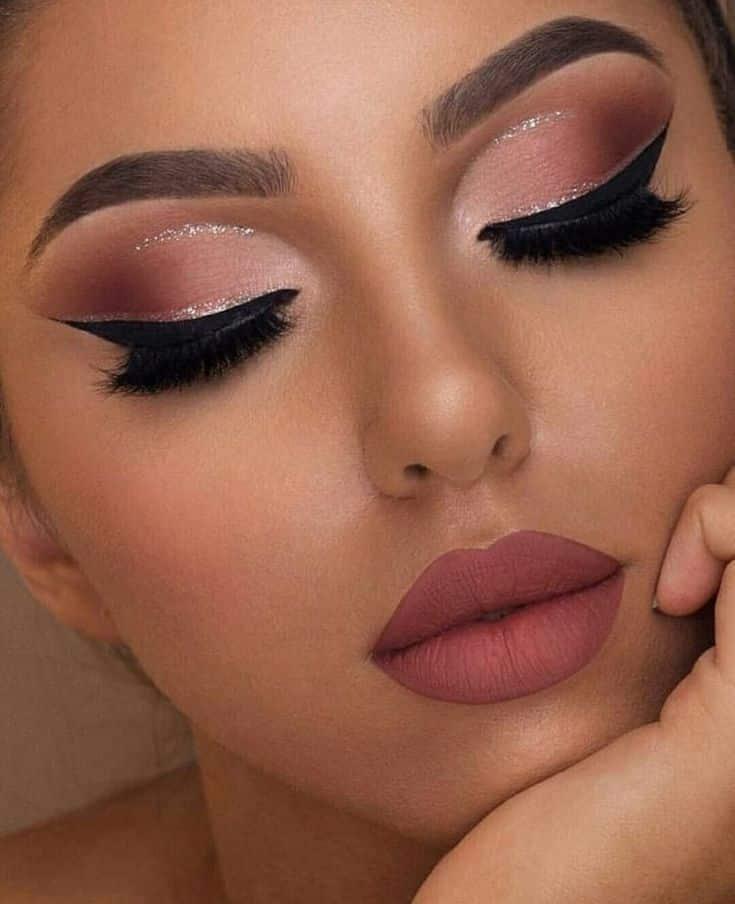 Clique e salve a imagem! Maquiagem linda! Clique na imagem e aprenda a fazer lin...