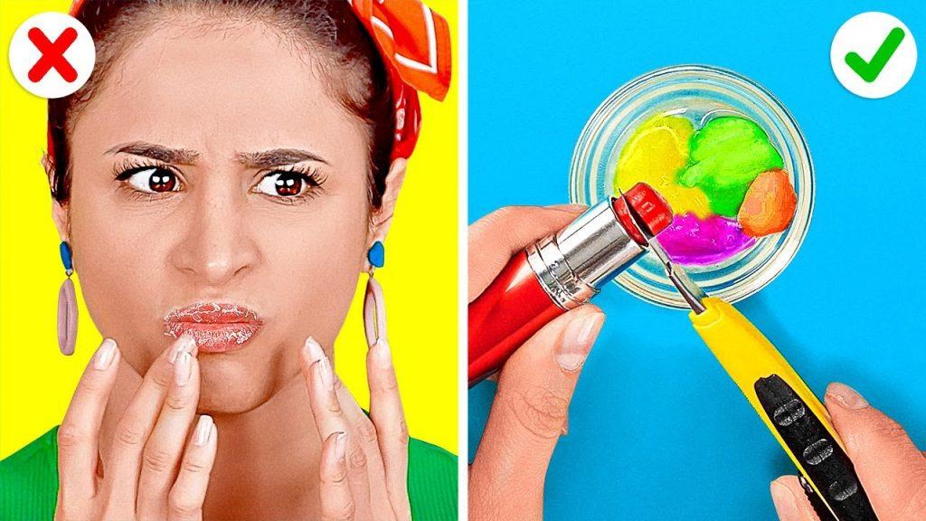 Produtos de beleza DIY e truques femininos bacanas ||  Idéias para cabelo e maquiagem que você precisa experimentar