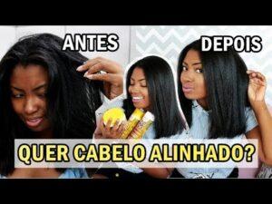 CABELO SEM FRIZZ MEU LISO ALINHADO Camila Nunes