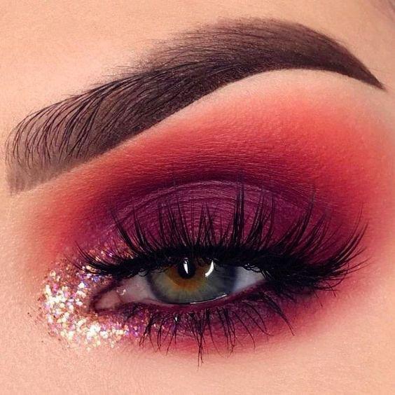 14 Idéias de maquiagem para olhos brilhantes para olhos deslumbrantes Os olhos são a alma da alma