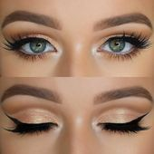 Effekvolles Make-up für blaue Augen – tolle Schminktipps #schminktippsschmink...