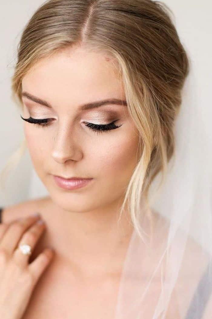 ▷ Mais de 1001 ideias para maquiagem de casamento de tirar o fôlego